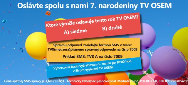 7. Narodeniny TV OSEM