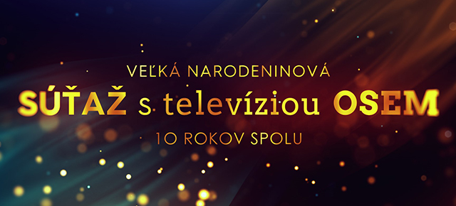 10. NARODENINY TV OSEM